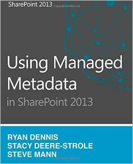 Using Managed Metadata in SharePoint 2013